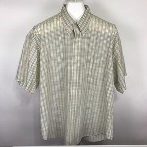 Taylor & Henry XL Short Sleeve Button Front Shirt